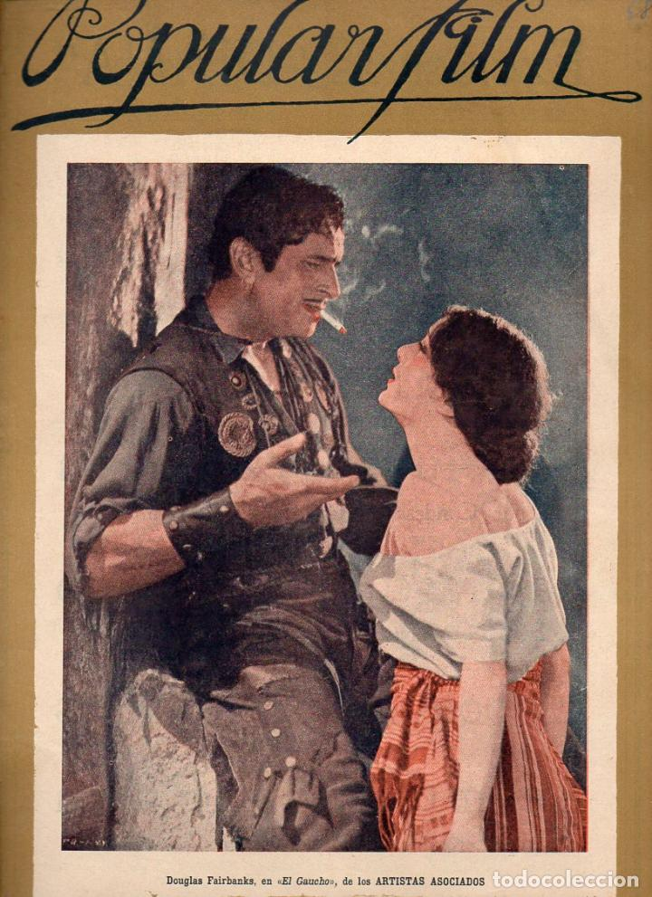 POPULAR FILM Nº 68 - 17 NOVIEMBRE 1927 (Cine - Revistas - Popular film)