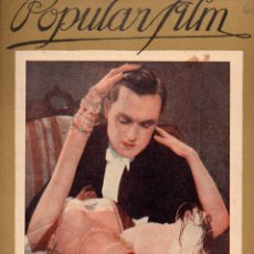 Cine: POPULAR FILM Nº 67 - 10 NOVIEMBRE 1927. Lote 107740459