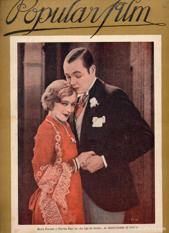POPULAR FILM Nº 65 - 27 OCTUBRE 1927 (Cine - Revistas - Popular film)