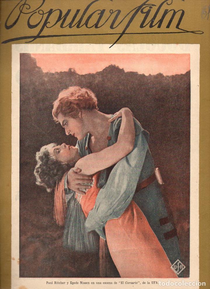 POPULAR FILM Nº 61 - 29 SEPTIEMBRE 1927 (Cine - Revistas - Popular film)