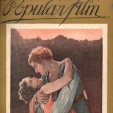 Cine: POPULAR FILM Nº 61 - 29 SEPTIEMBRE 1927. Lote 107740739