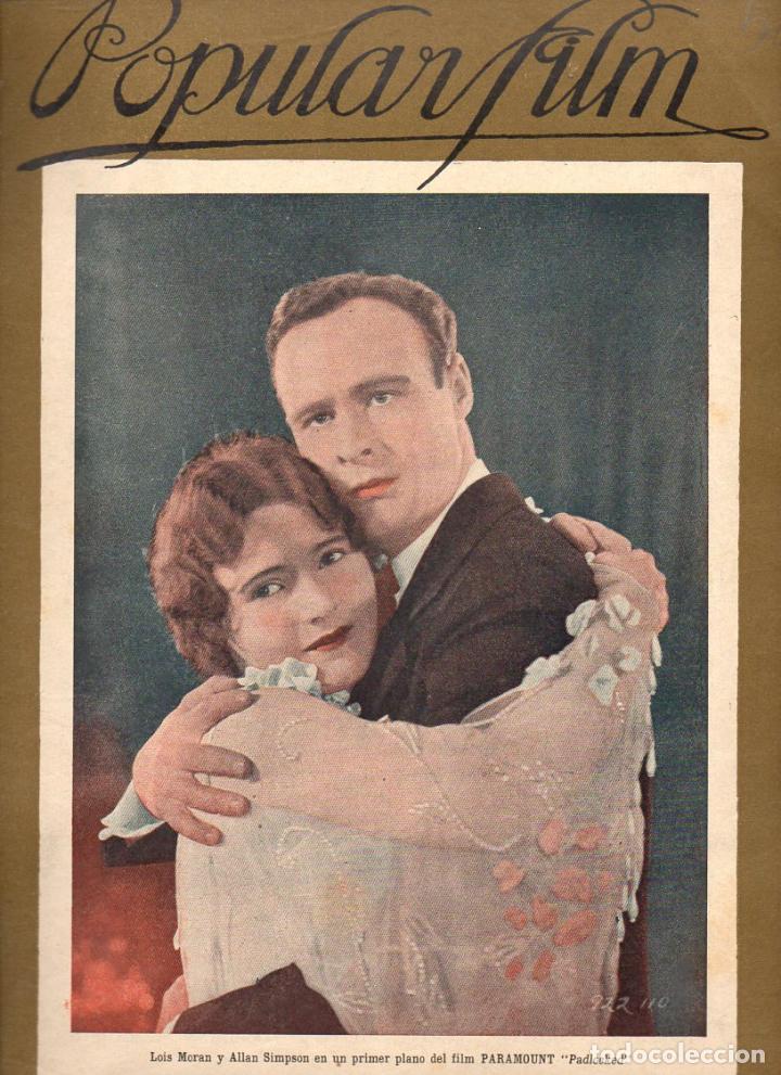 POPULAR FILM Nº 58 - 8 SEPTIEMBRE 1927 (Cine - Revistas - Popular film)