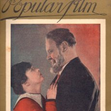 Cine: POPULAR FILM Nº 56 - 25 AGOSTO 1927. Lote 107742623