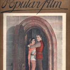 Cine: POPULAR FILM Nº 42 - 19 MAYO 1927. Lote 107742711