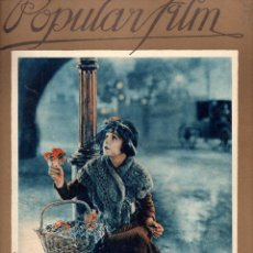 Cine: POPULAR FILM Nº 36 - 7 ABRIL 1927. Lote 107742791