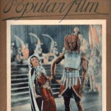Cine: POPULAR FILM Nº 32 - 10 MARZO 1927. Lote 107742951