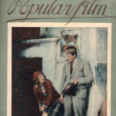 Cine: POPULAR FILM Nº 29 - 17 FEBRERO 1927. Lote 107743023