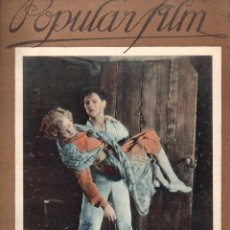 Cine: POPULAR FILM Nº 30 - 24 FEBRERO 1927. Lote 107743071