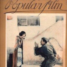 Cine: POPULAR FILM Nº 26 - 27 ENERO 1927. Lote 107743147