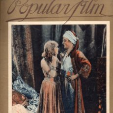 Cine: POPULAR FILM Nº 25 - 20 ENERO 1927. Lote 107743203