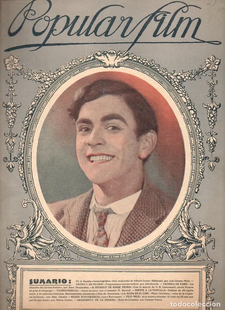 POPULAR FILM Nº 22 - 30 DICIEMBRE 1926 (Cine - Revistas - Popular film)
