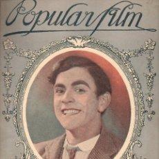 Cine: POPULAR FILM Nº 22 - 30 DICIEMBRE 1926. Lote 107743283