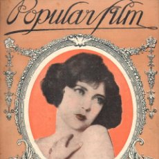 Cine: POPULAR FILM Nº 9 - 30 SEPTIEMBRE 1926. Lote 107743683