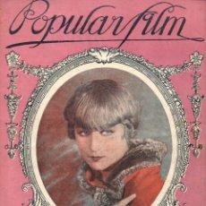 Cine: POPULAR FILM Nº 7 - 16 SEPTIEMBRE 1926. Lote 107743823