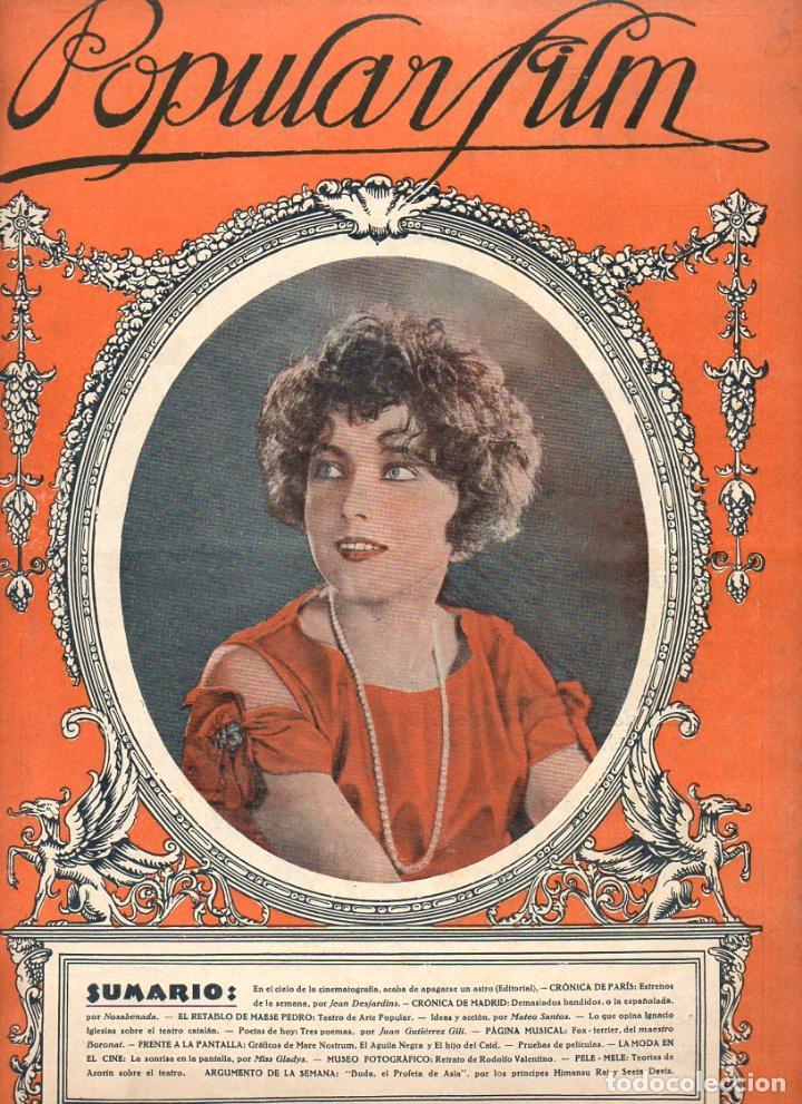 POPULAR FILM Nº 5 - 2 SEPTIEMBRE 1926 (Cine - Revistas - Popular film)