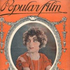 Cine: POPULAR FILM Nº 5 - 2 SEPTIEMBRE 1926. Lote 107743911