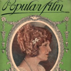 Cine: POPULAR FILM Nº 2 - 12 AGOSTO 1926. Lote 107745059