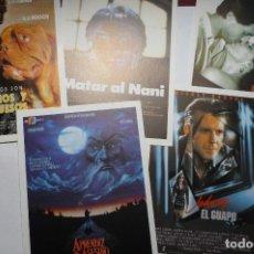 Cine: LOTE PROGRAMAS MODERNOS A IMPRENTA DE LOS AÑOS 8O.... Lote 107861639