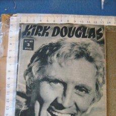 Cine: COLECCIÓN IDOLOS DEL CINE - KIRD DOUGLAS - Nº 62. Lote 107888691