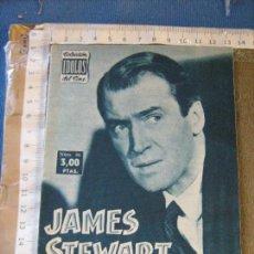 Cine: COLECCIÓN IDOLOS DEL CINE - JAMES STEWART - Nº 66. Lote 107888887