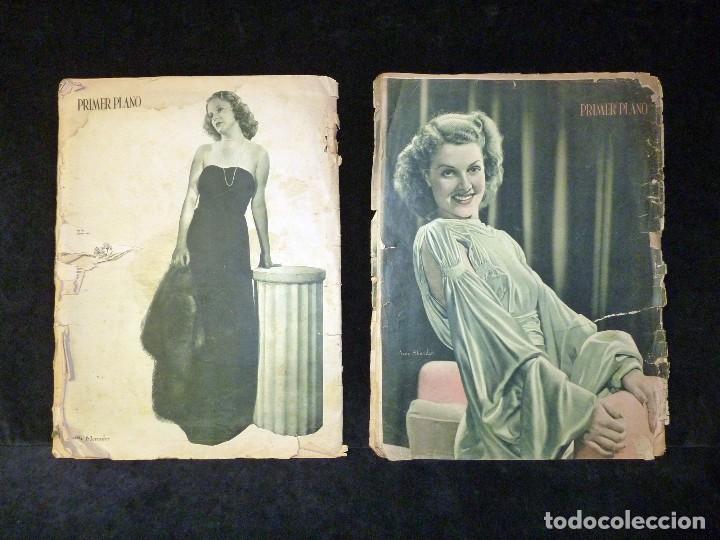 Cine: LOTE DE 2 REVISTAS PRIMER PLANO. SEMANARIO ESPAÑOL DE CINEMATOGRAFÍA. AÑO 1942. CINE. Nº 81 y 83 - Foto 2 - 107948451
