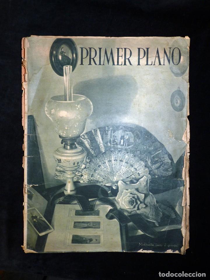 Cine: LOTE DE 2 REVISTAS PRIMER PLANO. SEMANARIO ESPAÑOL DE CINEMATOGRAFÍA. AÑO 1942. CINE. Nº 81 y 83 - Foto 3 - 107948451
