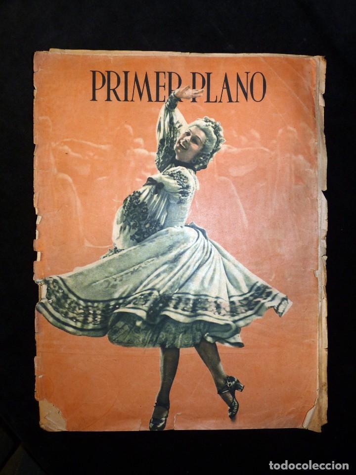 Cine: LOTE DE 2 REVISTAS PRIMER PLANO. SEMANARIO ESPAÑOL DE CINEMATOGRAFÍA. AÑO 1942. CINE. Nº 81 y 83 - Foto 4 - 107948451