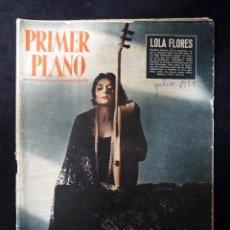 Cine: REVISTA PRIMER PLANO, Nº 876 AÑO 1957. REVISTA ESPAÑOLA DE CINEMATOGRAFÍA.CINE. LOLA FLORES. Lote 107948503