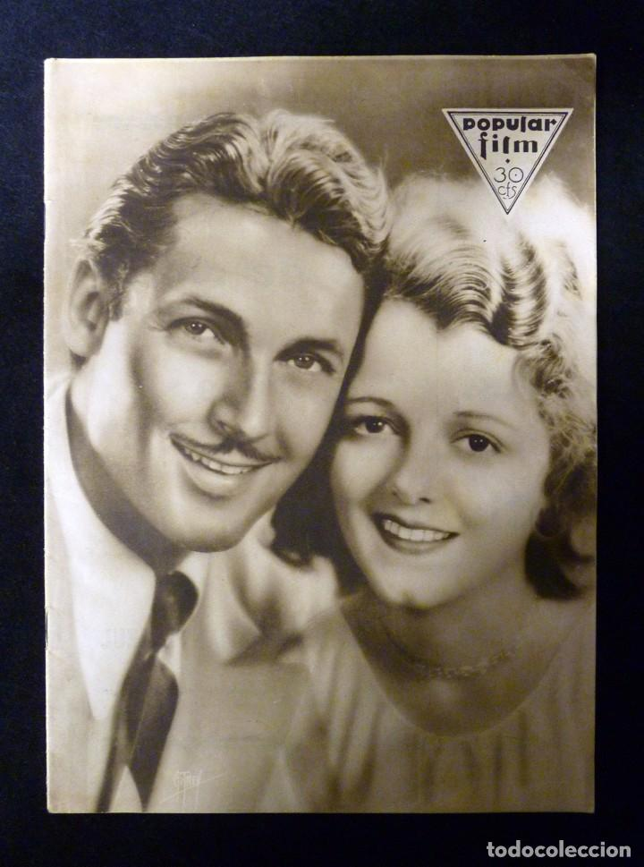 REVISTA POPULAR FILM, Nº 224 AÑO 1930. CINE (Cine - Revistas - Popular film)