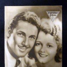 Cine: REVISTA POPULAR FILM, Nº 224 AÑO 1930. CINE. Lote 107948567