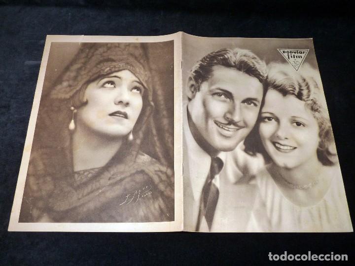 Cine: REVISTA POPULAR FILM, Nº 224 AÑO 1930. CINE - Foto 2 - 107948567