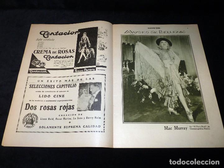 Cine: REVISTA POPULAR FILM, Nº 224 AÑO 1930. CINE - Foto 3 - 107948567