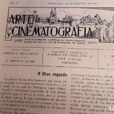 Cine: ARTE Y CINEMATOGRAFIA - 1914 - CINE MUDO - Nº 94. Lote 108121459