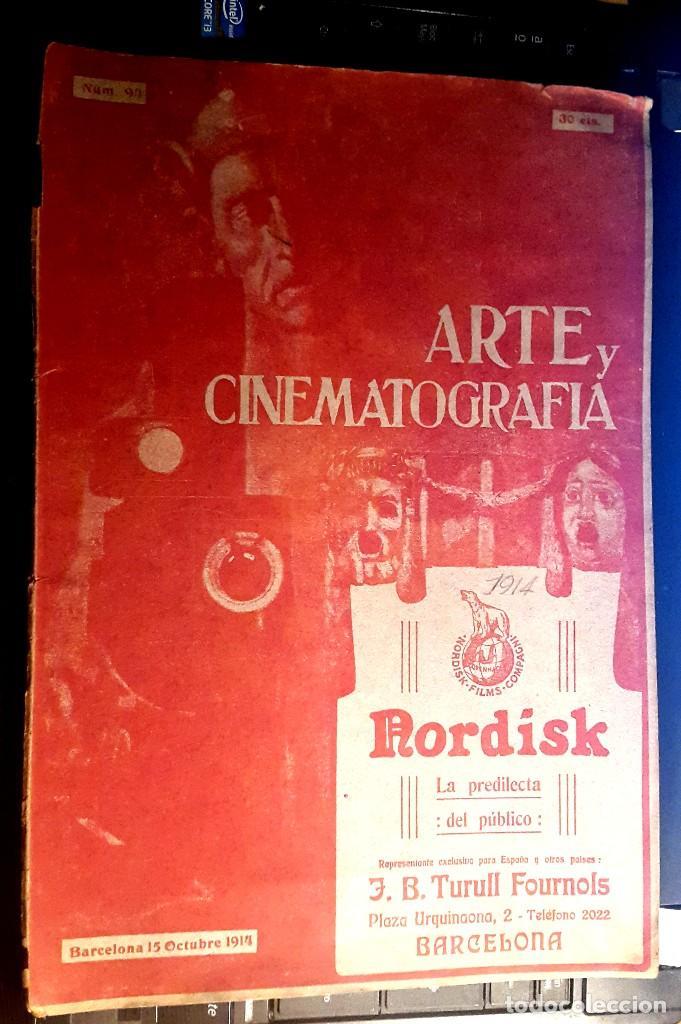 Cine: ARTE Y CINEMATOGRAFIA - 1914 - CINE MUDO - Nº 94 - Foto 2 - 108121459
