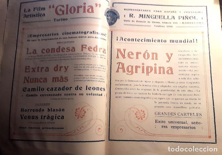 Cine: ARTE Y CINEMATOGRAFIA - 1914 - CINE MUDO - Nº 94 - Foto 5 - 108121459