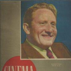 Cine: REVISTA CINEMA Nº 44. 1 MARZO 1948. PORTADA SPENCER TRACY. FERNANDO F. GOMEZ Y Mº DOLORES PRADERA.. Lote 108245027