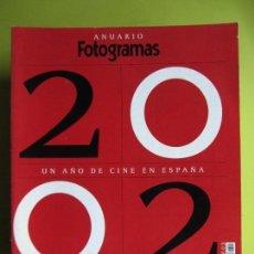 Cine: FOTOGRAMAS ANUARIO 2002. Lote 108260811