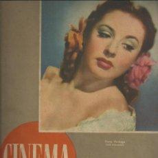 Cine: REVISTA CINEMA Nº 30. 15 JUNIO 1947. PORTADA ELENA VERDUGO. JOHN FORD, LUIS PEÑA, ESTRENOS BARCELONA. Lote 108336491