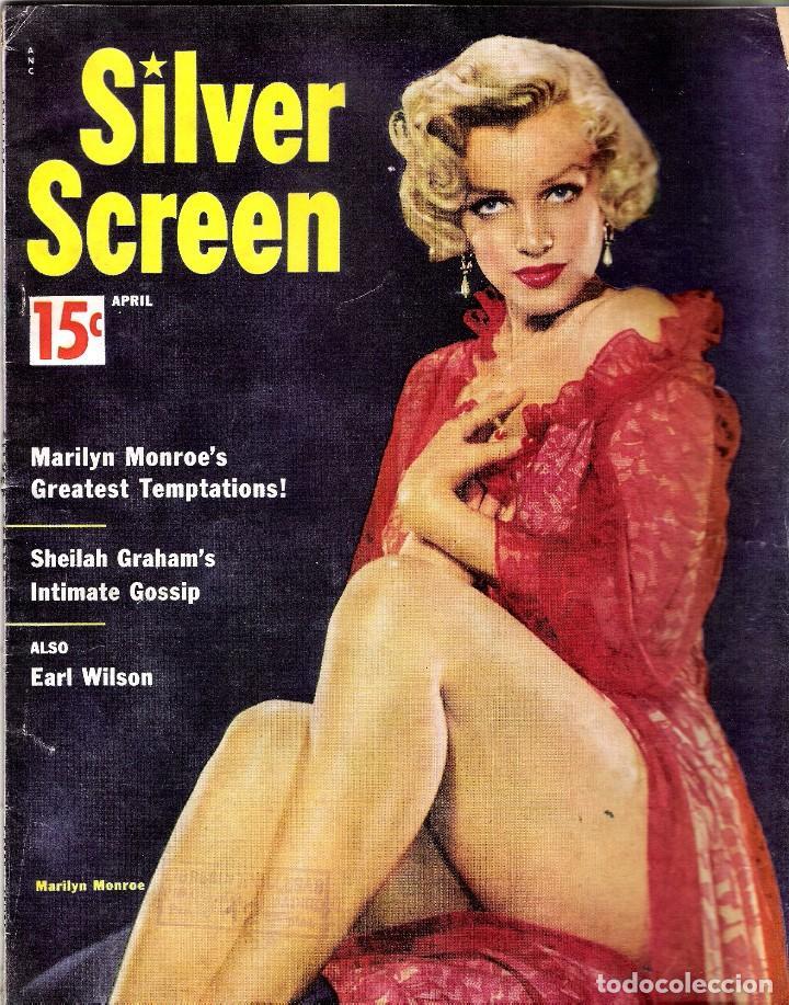 SILVER SCREEN REVISTA - PORTADA MARILYN MONROE (Nª 6 AÑO 1954) (Cine - Revistas - Otros)