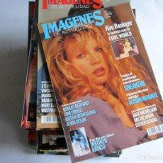 Cine: IMÁGENES DE ACTUALIDAD. LOTE DE 33 REVISTAS ENTRE LA Nº 111 (1993) Y Nº 161 (1997) VER FOTOS. Lote 108455283