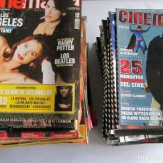 Cine: CINEMANÍA. LOTE DE 69 REVISTAS ENTRE LA Nº 75 (2001) Y Nº 167 (2007). EXCELENTE ESTADO. VER FOTOGRAF. Lote 108717459