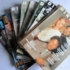 Cine: DIRIGIDO 1993-1994 LOTE DE 10 REVISTAS ENTRE Nº 211 Y Nº 225 EXCELENTE ESTADO. VER FOTOS.. Lote 108718499