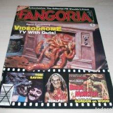 Cine: FANGORIA. REVISTA DE CINE. VIDEODROME. CEEPSHOW. ED WOOD. # 25. 1983.. Lote 108795007