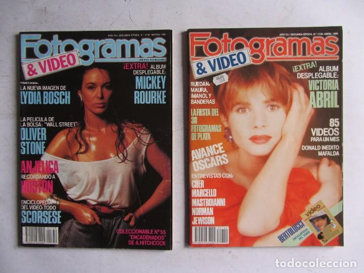 Cine: FOTOGRAMAS 1988 LOTE DE 11 REVISTAS, TODAS LAS DEL AÑO, DESDE LA Nº 1737 A LA Nº 1747 - Foto 3 - 108801267