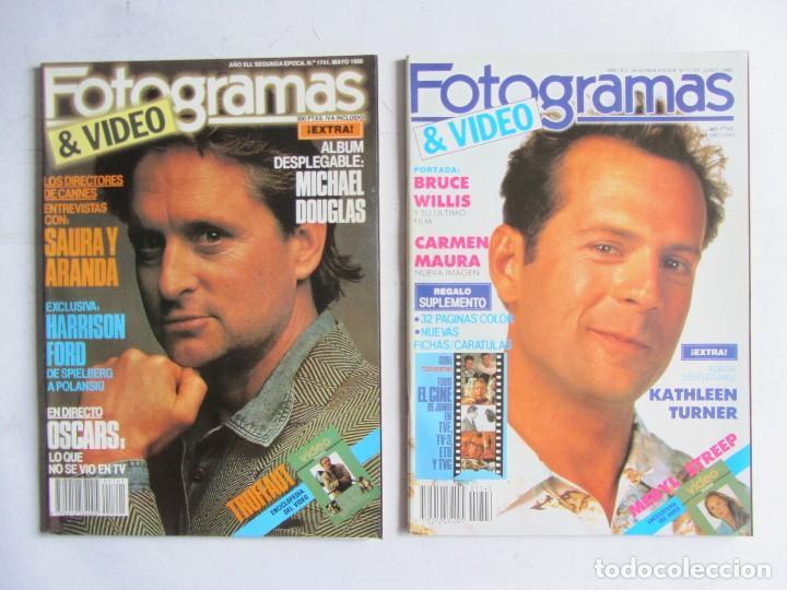 Cine: FOTOGRAMAS 1988 LOTE DE 11 REVISTAS, TODAS LAS DEL AÑO, DESDE LA Nº 1737 A LA Nº 1747 - Foto 4 - 108801267