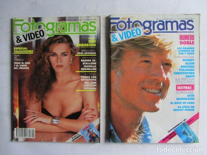 Cine: FOTOGRAMAS 1988 LOTE DE 11 REVISTAS, TODAS LAS DEL AÑO, DESDE LA Nº 1737 A LA Nº 1747 - Foto 5 - 108801267