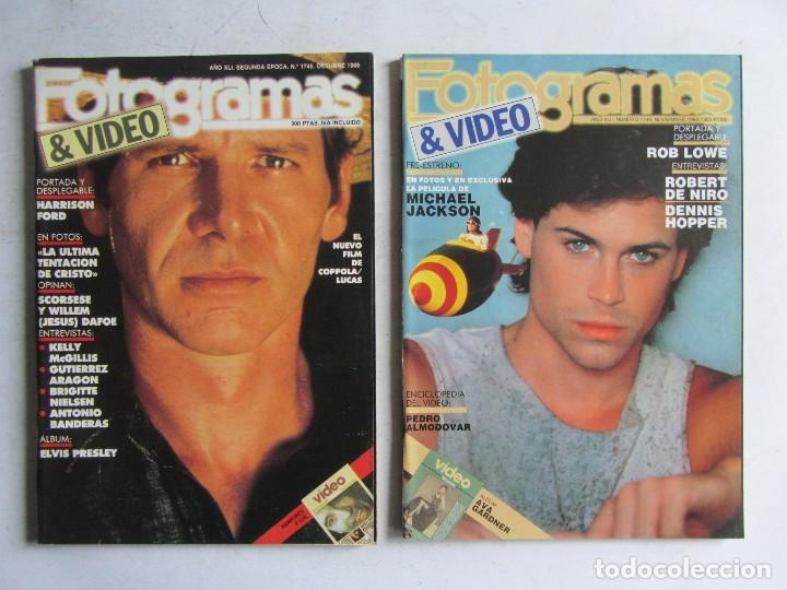 Cine: FOTOGRAMAS 1988 LOTE DE 11 REVISTAS, TODAS LAS DEL AÑO, DESDE LA Nº 1737 A LA Nº 1747 - Foto 6 - 108801267