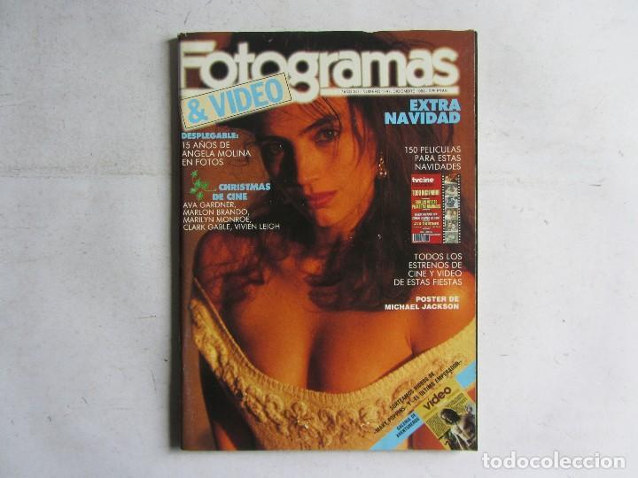 Cine: FOTOGRAMAS 1988 LOTE DE 11 REVISTAS, TODAS LAS DEL AÑO, DESDE LA Nº 1737 A LA Nº 1747 - Foto 7 - 108801267