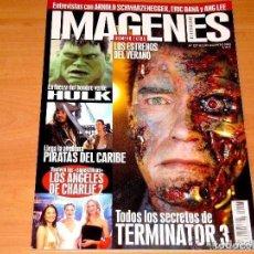 Cine: REVISTA IMÁGENES DE ACTUALIDAD. JULIO-AGOSTO 2003. EXCELENTE ESTADO.. Lote 108982983