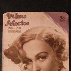 Cine: FILMS SELECTOS Nº 300-1936-MADGE EVANS-ROBERT TAYLOR-CAROLE LOMBARD-LUCILLE BALL-CATALINA BARCENA. Lote 108985795